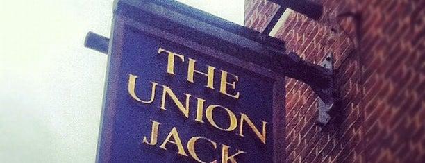 The Union Jack is one of Ankur : понравившиеся места.