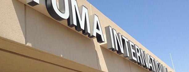 Yuma International Airport (YUM) is one of Airports I've been To.