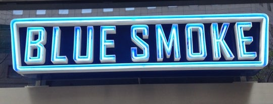 Blue Smoke is one of NYC 🗽.
