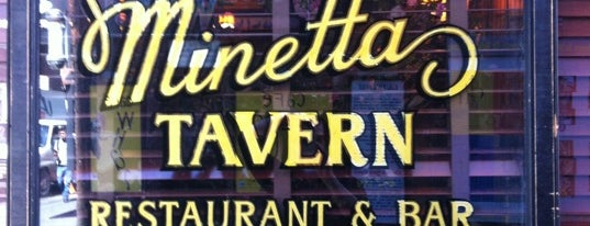 Minetta Tavern is one of NY Region Old-Timey Bars, Cafes, and Restaurants.