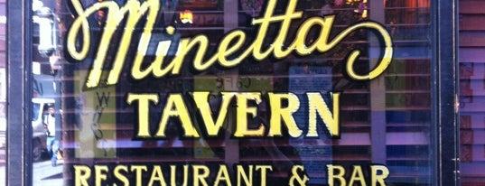 Minetta Tavern is one of Manhattan.