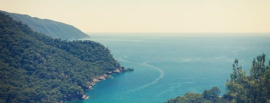 Kabak Koyu is one of Fethiye, Turkey.