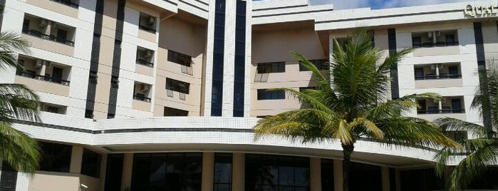 Quality Hotel Aracaju is one of สถานที่ที่ Fran ถูกใจ.