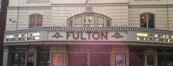 Fulton Opera House is one of Tempat yang Disukai Chrissy.