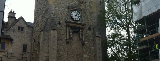 Carfax Tower is one of For the Love of England.