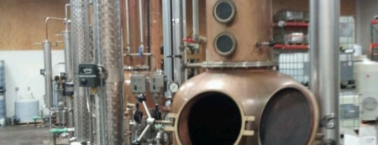 Clear Creek Distillery is one of Portland.