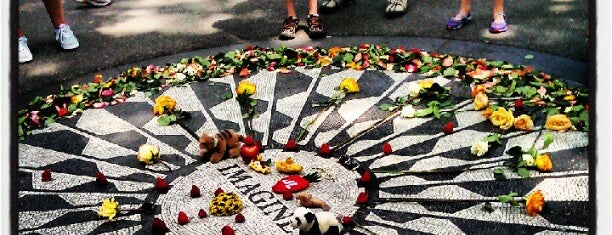 Strawberry Fields is one of Experience Central Park on The Mark Bikes.