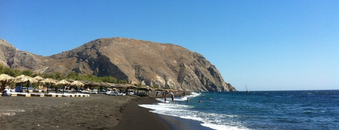Perissa Beach is one of Santorini 2017 - trip list.