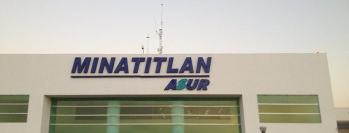 Aeropuerto Internacional de Minatitlán (MTT) is one of สถานที่ที่ Tania ถูกใจ.