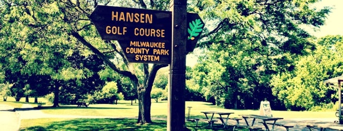 Hansen Park Golf Course is one of Places I want to Go.