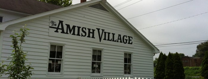 Amish Village is one of Pennsylvania.