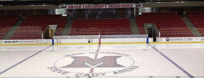 Goggin Ice Center is one of Miami U.