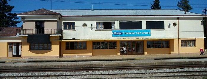 Estación San Carlos is one of Estaciones TerraSur.