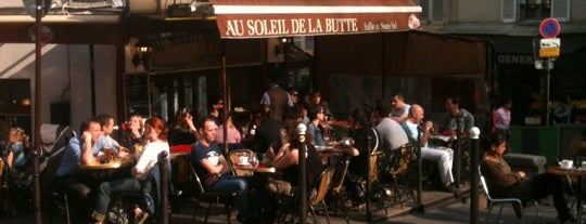 Au Soleil de la Butte is one of Paris.