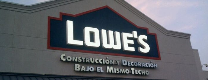 Lowe's Home Improvement is one of Ismaelさんのお気に入りスポット.