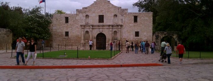 The Alamo is one of Places I've been.