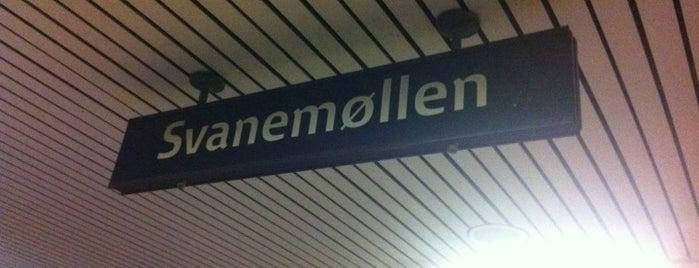 Svanemøllen st. is one of Dagligdagstips: Mest fra Ydre 2200 +Ydre 2100.