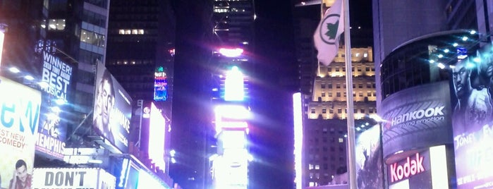 Times Square is one of Marvel Comics NYC Landmarks.