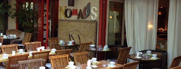 Nomad's is one of Brunchs buffet.
