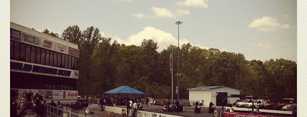Maryland Int'l Raceway is one of Bucket List for Gearheads.