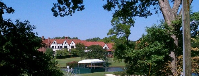 East Lake Golf Club is one of Badges.