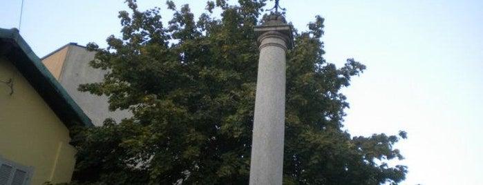 Colonna sormontata da croce del XVIII secolo is one of Milanoさんのお気に入りスポット.