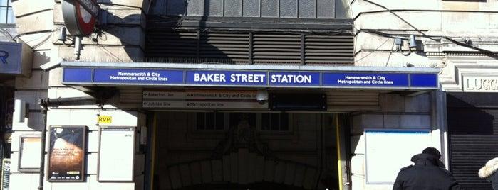 Baker Street London Underground Station is one of Underground Stations in London.