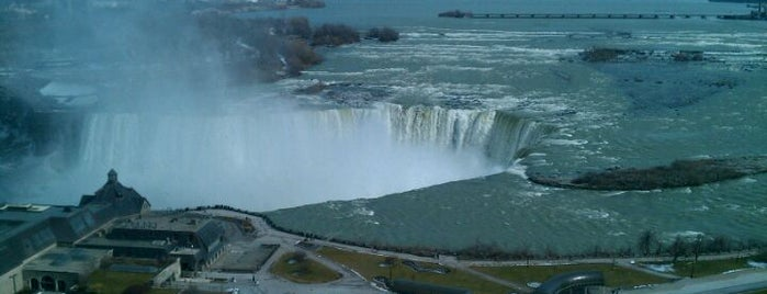 Niagara Falls Marriott Fallsview Hotel & Spa is one of Lugares favoritos de Amanda.