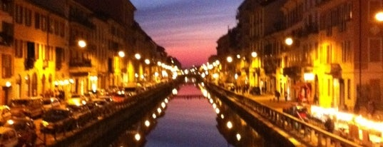 Naviglio Grande is one of Let's get lose.