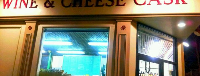 The Wine & Cheese Cask is one of Nearby Neighborhoods: Inman Square.