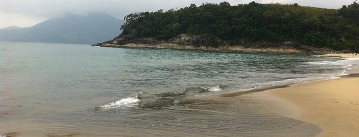 Praia de Paúba is one of Praias de São Sebastião.