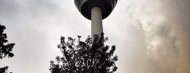 Fernmeldeturm is one of Mannheim.