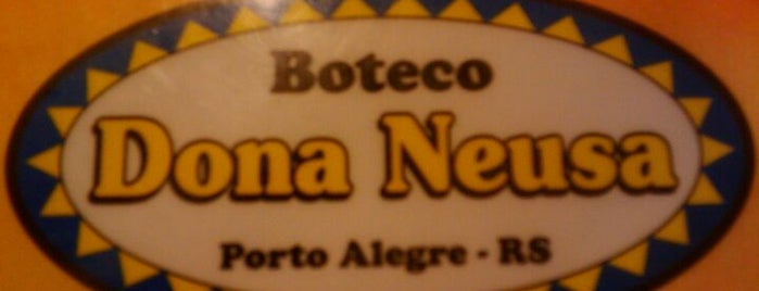 Boteco Dona Neusa is one of Porto Alegre's Nightlife.