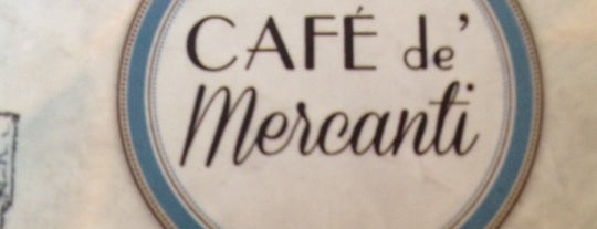 Café de' Mercanti is one of Cafés de Montréal.