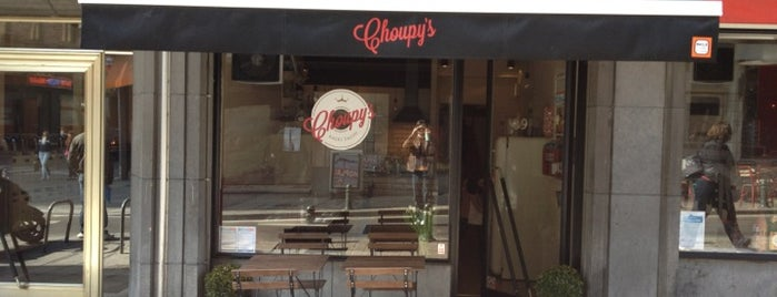 Choupy's is one of Belgien.