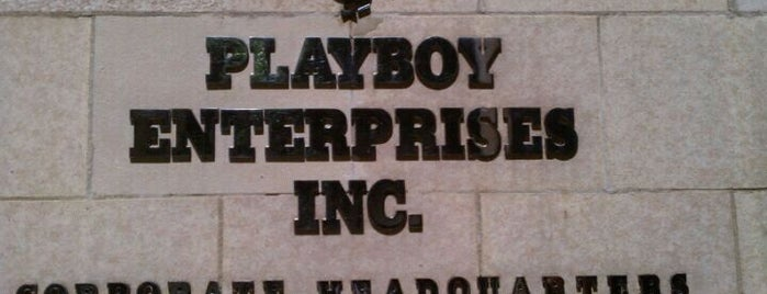 Playboy Enterprises, Inc. is one of Tempat yang Disukai Mujdat.