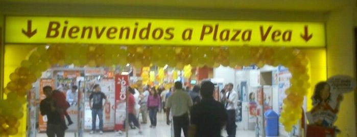 plazaVea is one of Lieux qui ont plu à Luis.