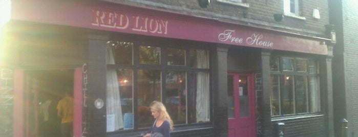 Red Lion is one of London.