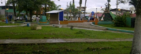 Parque Simon Bolivar is one of Bocas del Toro.
