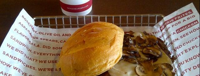 Smashburger is one of Cedricさんの保存済みスポット.