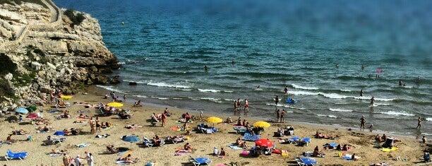 Cala Llenguadets is one of Playas de España: Cataluña.