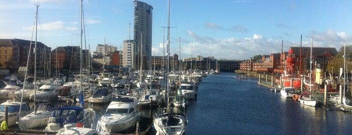 Swansea Marina is one of Swansea.