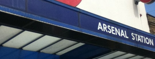 Arsenal London Underground Station is one of Underground Stations in London.