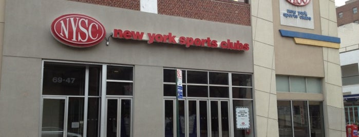 New York Sports Clubs is one of Places.