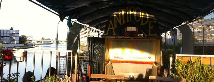 Péniche Antipode is one of Beer Map.