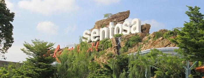 Sentosa Island is one of Lion City.
