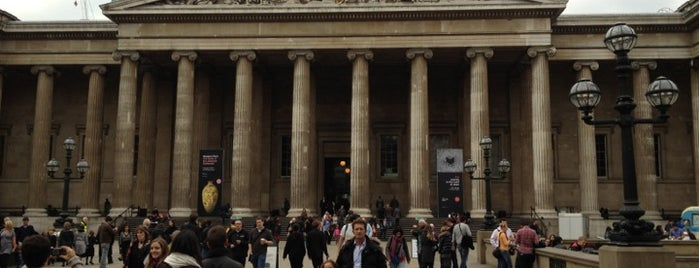 British Museum is one of Museus.