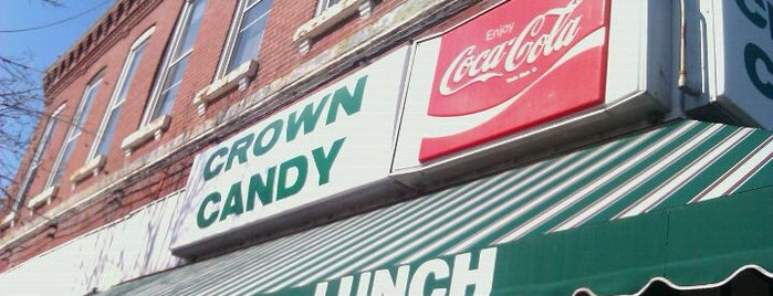 Crown Candy Kitchen is one of Local venues to visit.