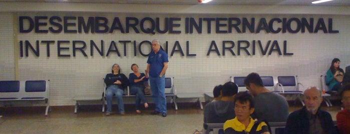 Aeroporto Internacional de São Paulo / Guarulhos (GRU) is one of Best places in São Paulo, Brasil.