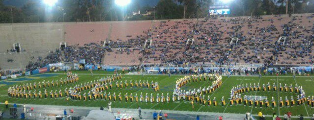 Rose Bowl Stadium is one of Great Sport Locations Across United States.